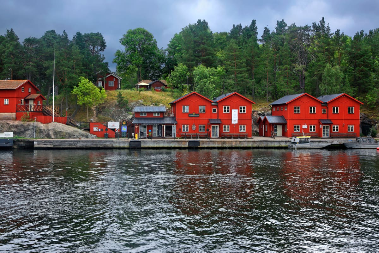 ,Excursión a Fjäderholmarna