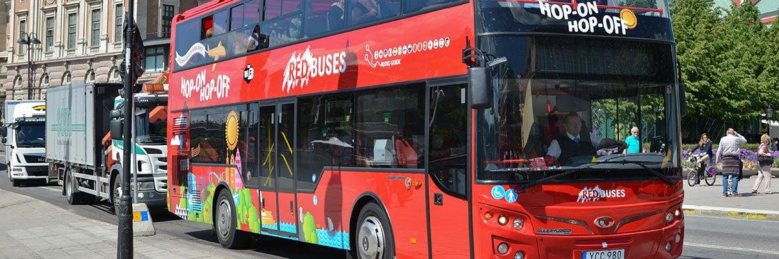Autobus turistico di Stoccolma