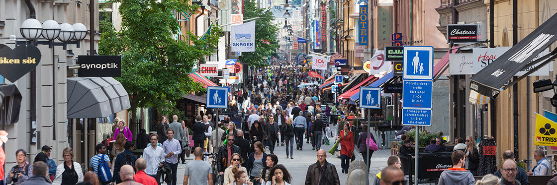 Shopping à Stockholm