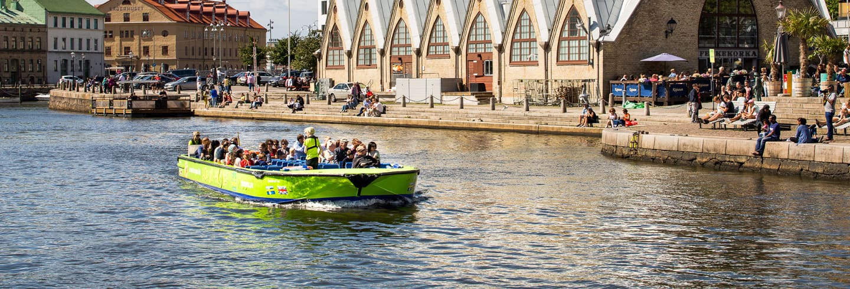 Barco turístico de Gotemburgo