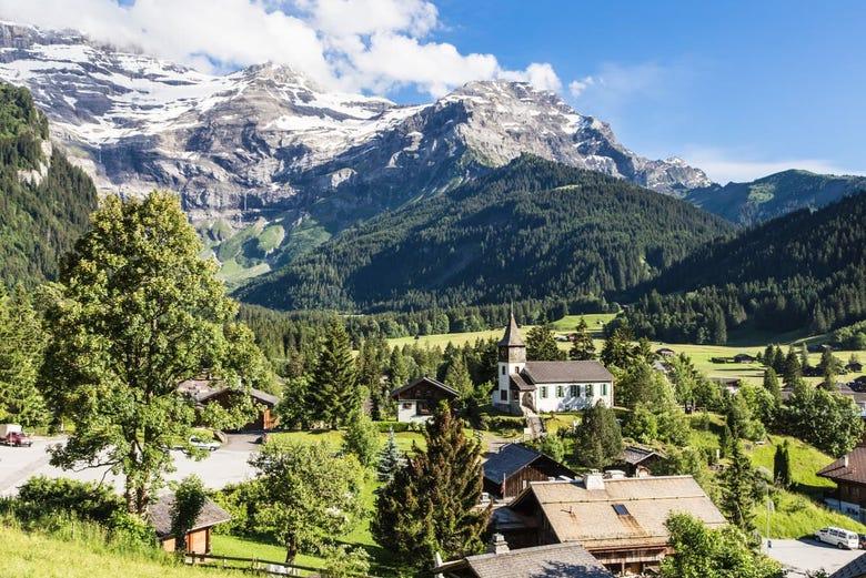 ,Excursión a Montreux