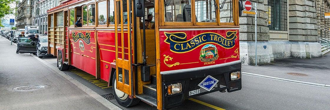 Ônibus em Zurique