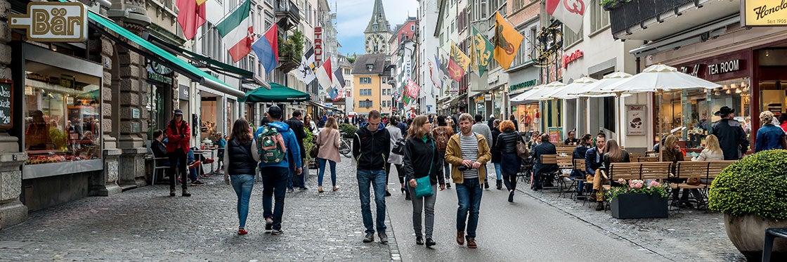 Compras em Zurique