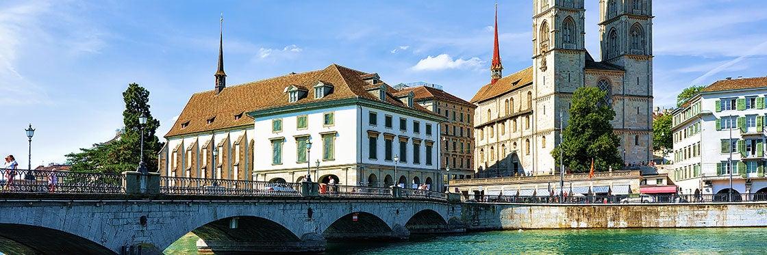 Église Grossmünster à Zurich