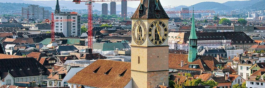 La chiesa di San Pietro di Zurigo