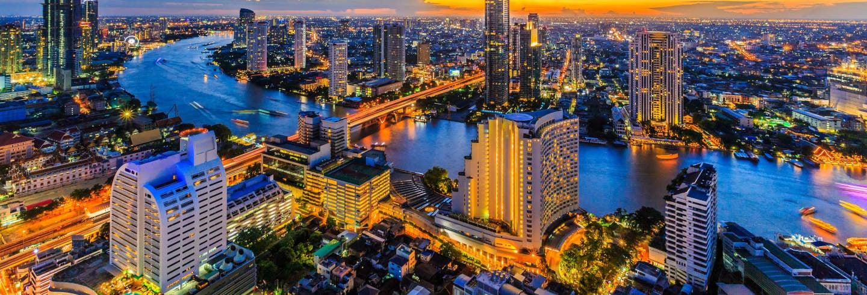 Barco turístico de Bangkok