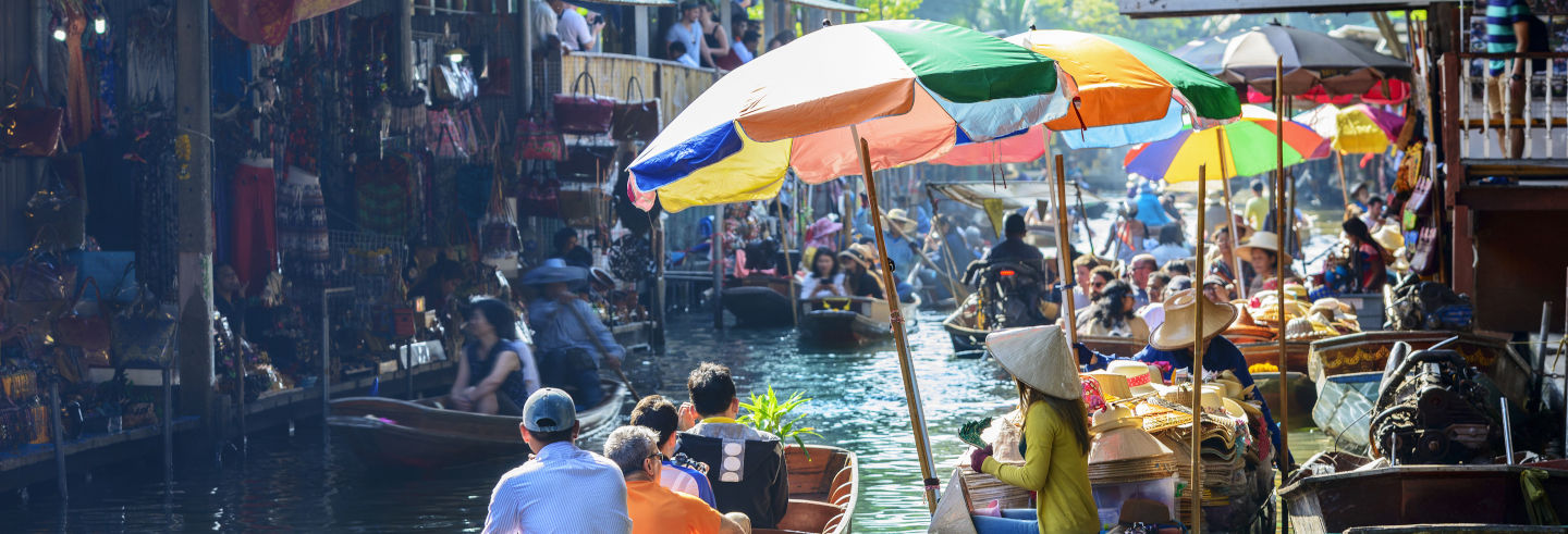 Bangkok Railway & Floating Markets Tour