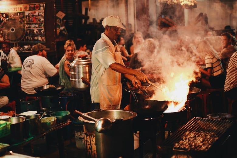 Tour gastronomico di chinatown bangkok disfruta bangkok for Piatti tipici cinesi