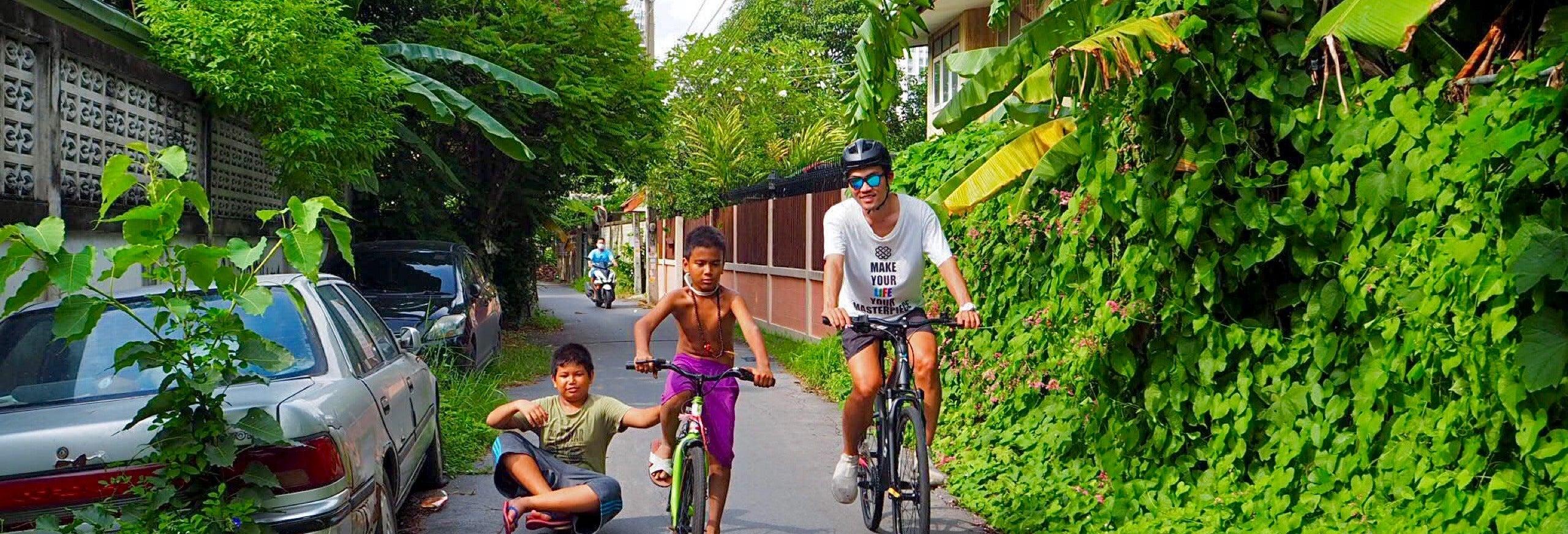 Balade à vélo dans Bangkok