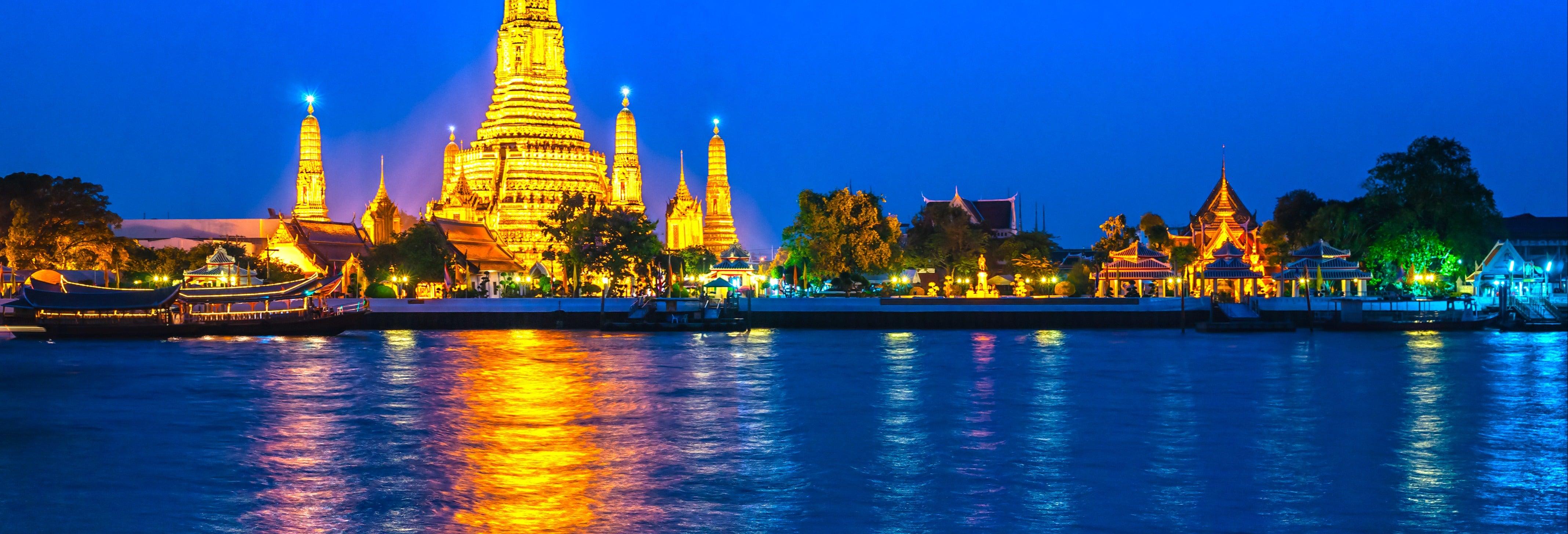 Tour nocturno por Bangkok + Torre MahaNakhon