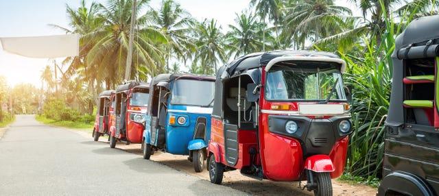 Tour en tuk tuk por Bangkok