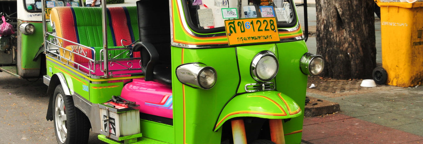 Tour di Bangkok in tuk tuk