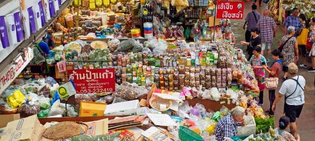 Tour gastronômico por Chiang Mai