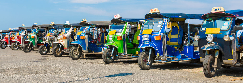 Tour de tuk tuk por Chiang Mai