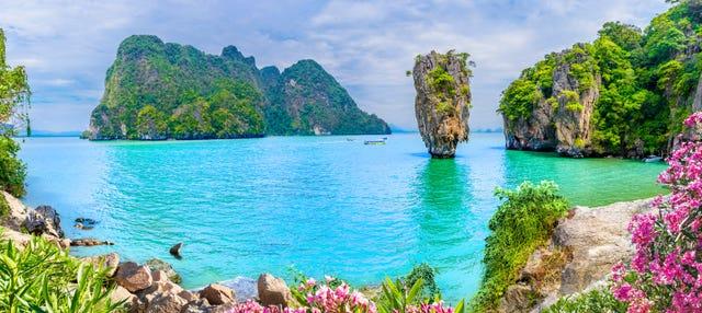 Escursione all'isola di James Bond in barca