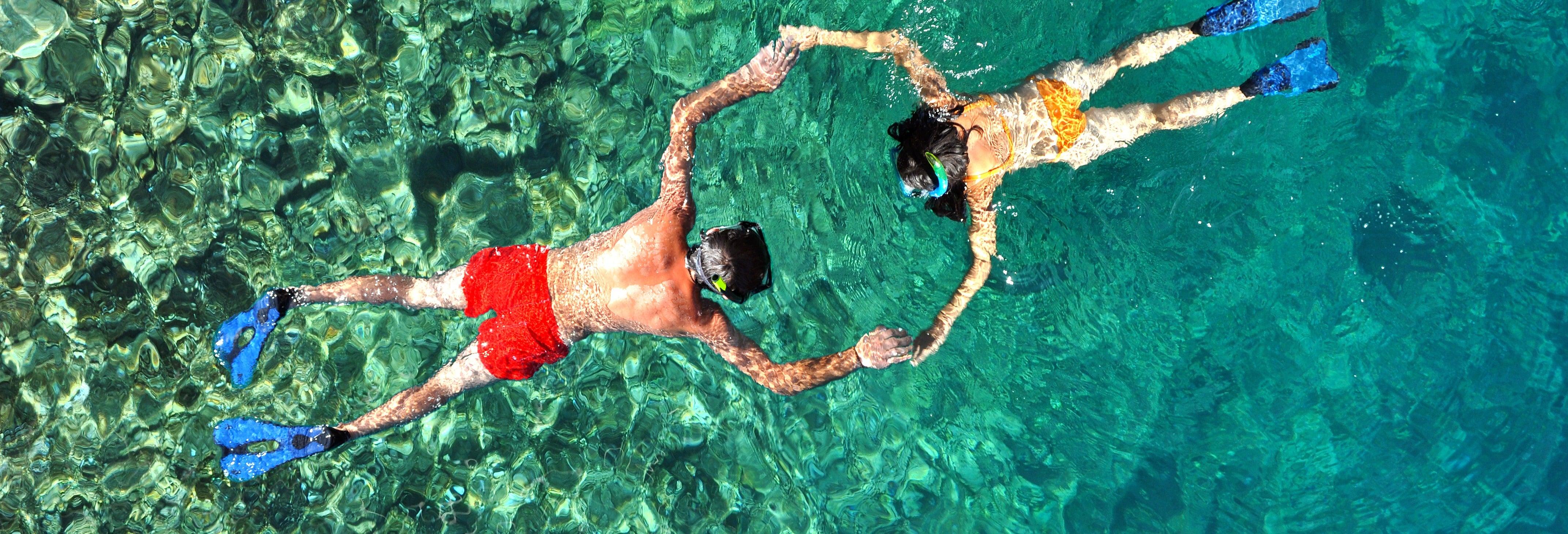 Snorkel nas ilhas de Koh Lanta