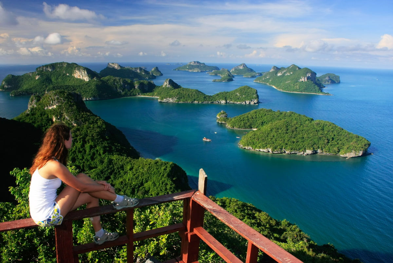 Views of the Ang Thong National Park