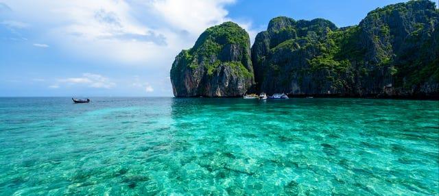Excursión a las islas Phi Phi en lancha rápida
