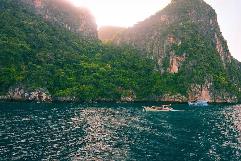 ,Excursión a Islas Phi Phi