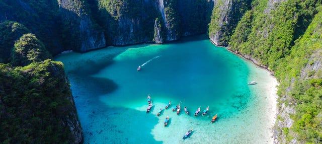 Tour en kayak por la laguna de cristal de Krabi