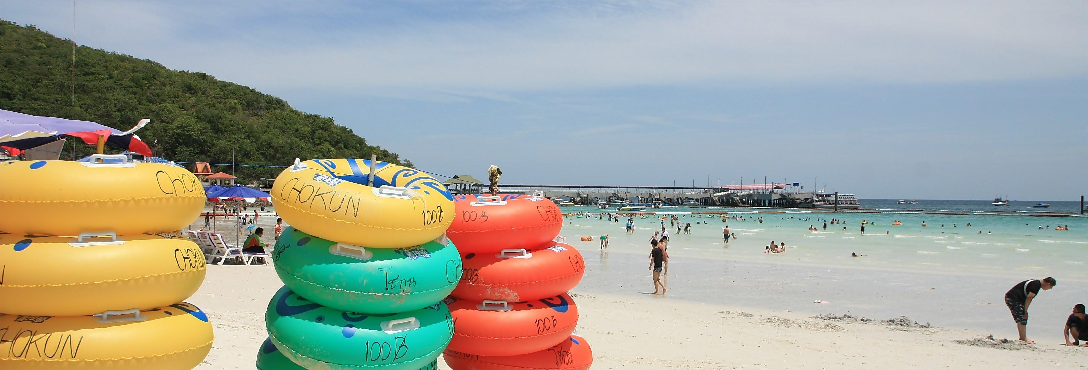 Excursão a Coral Island de lancha