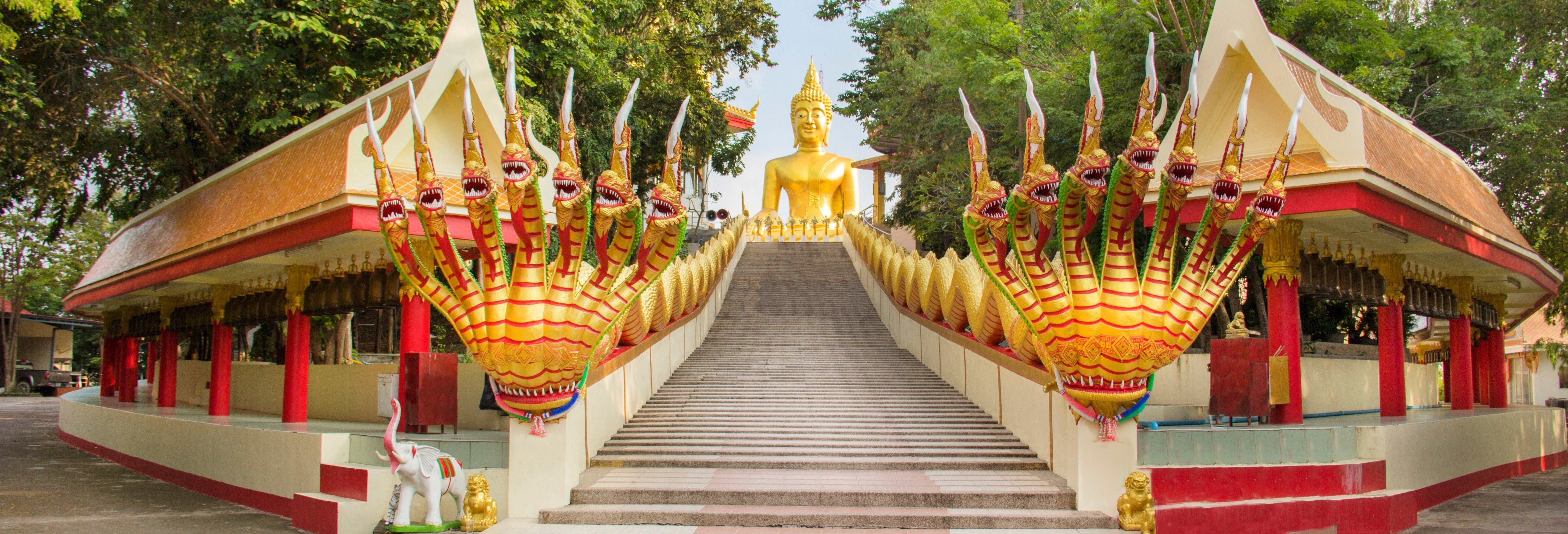 Visita guidata alla collina del Buddha