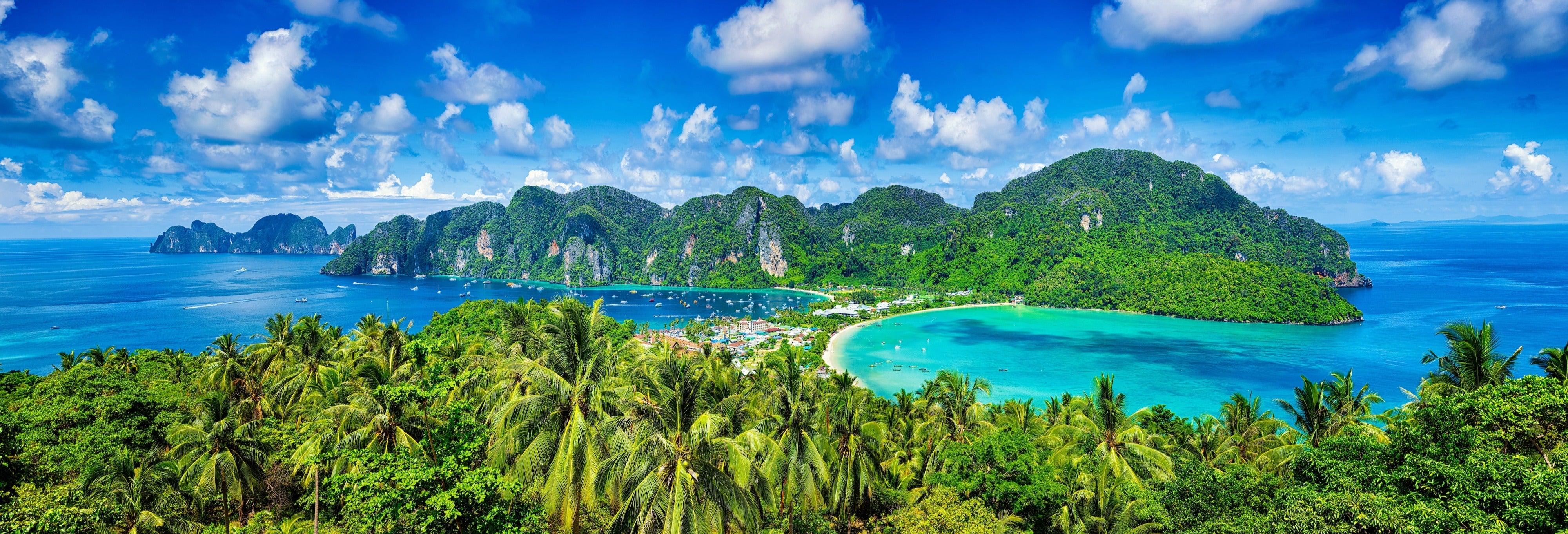 Ferry às ilhas Phi Phi