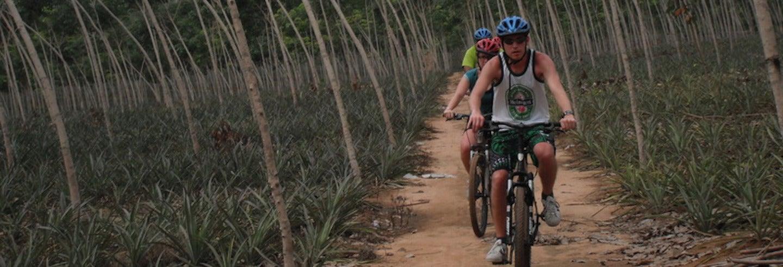 Balade à vélo dans la jungle de Phuket