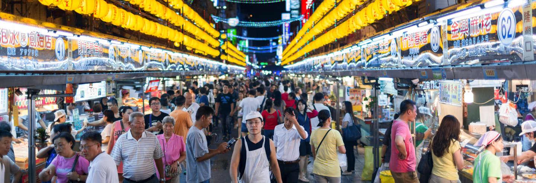 Tour gastronômico pelo mercado noturno Miaokou