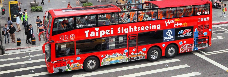 Autobus turistico di Taipei
