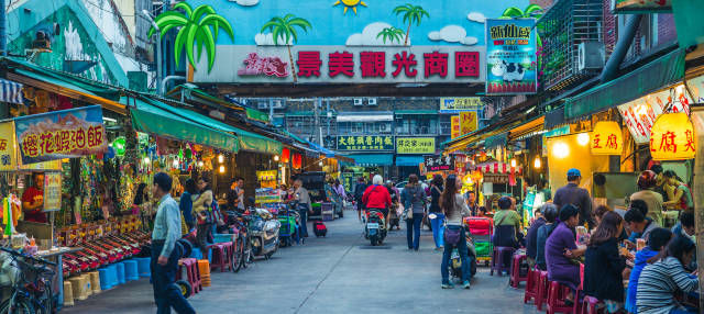 Tour gastronómico por Taipéi