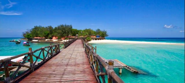 Excursión a la isla de la Prisión y playa Nakupenda