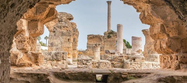 Excursão a Cartago e Sidi Bou Said