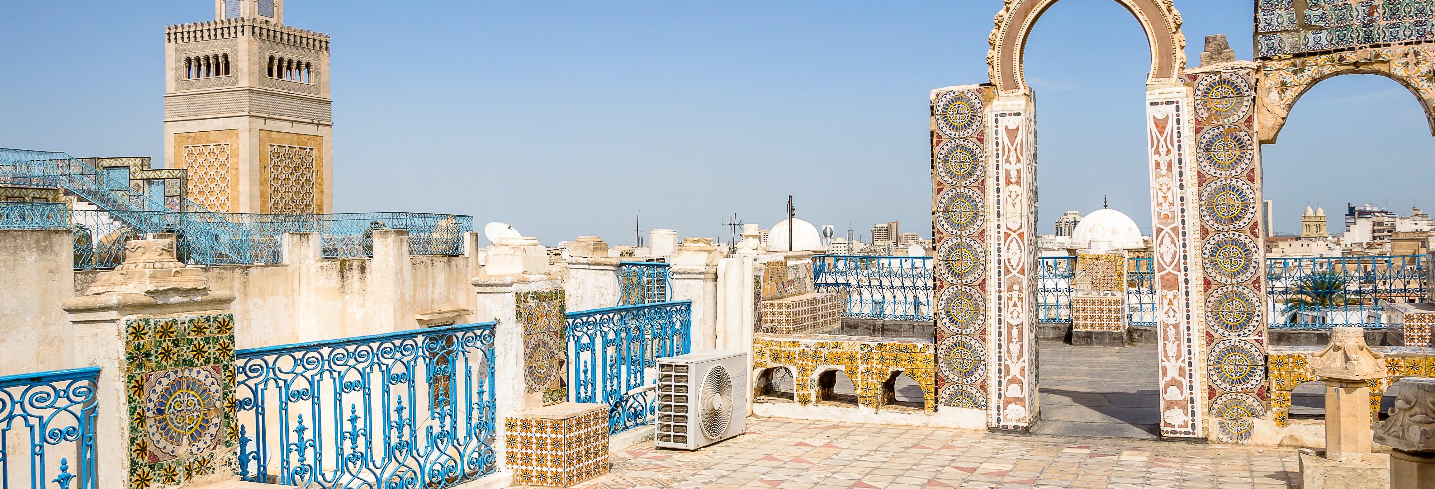 Visita guiada por Túnez