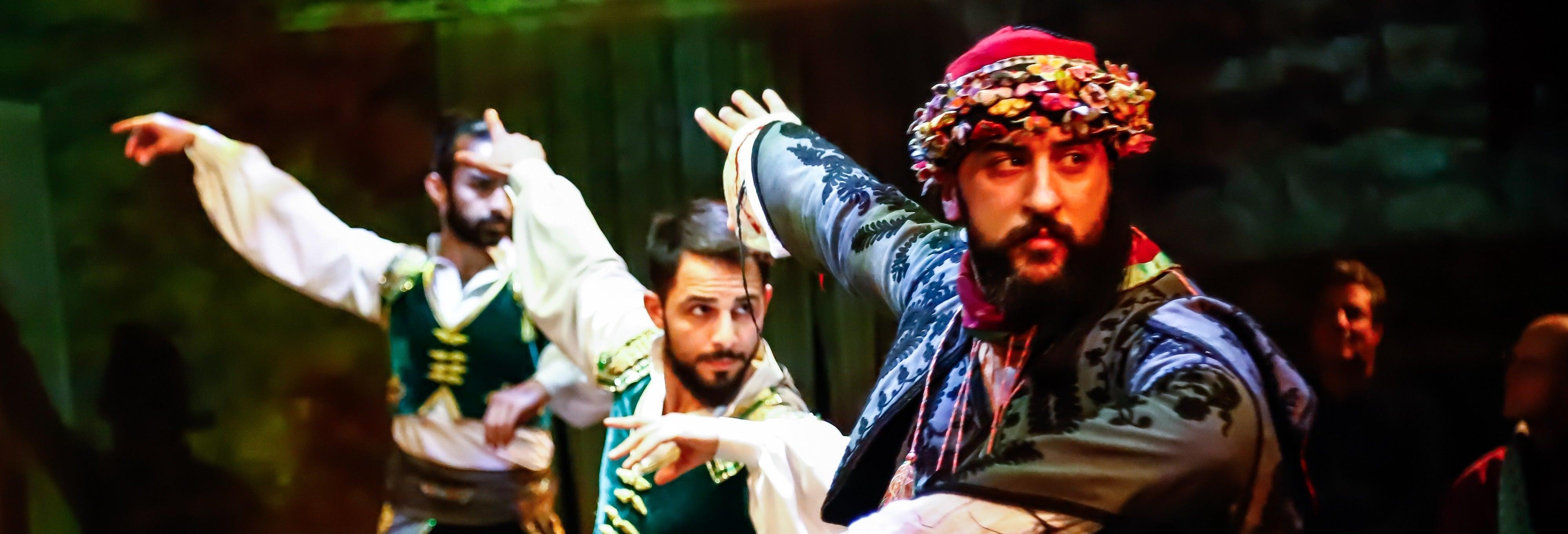 Espetáculo de música e dança tradicional