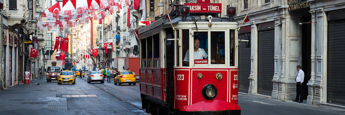 Trams in Istanbul