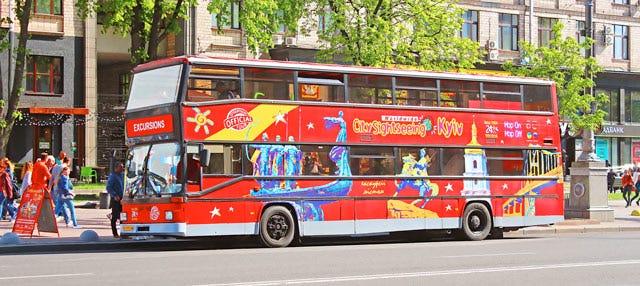 Autobús turístico de Kiev