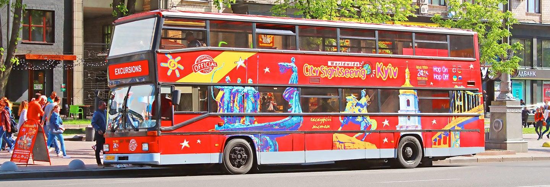 Bus touristique de Kiev