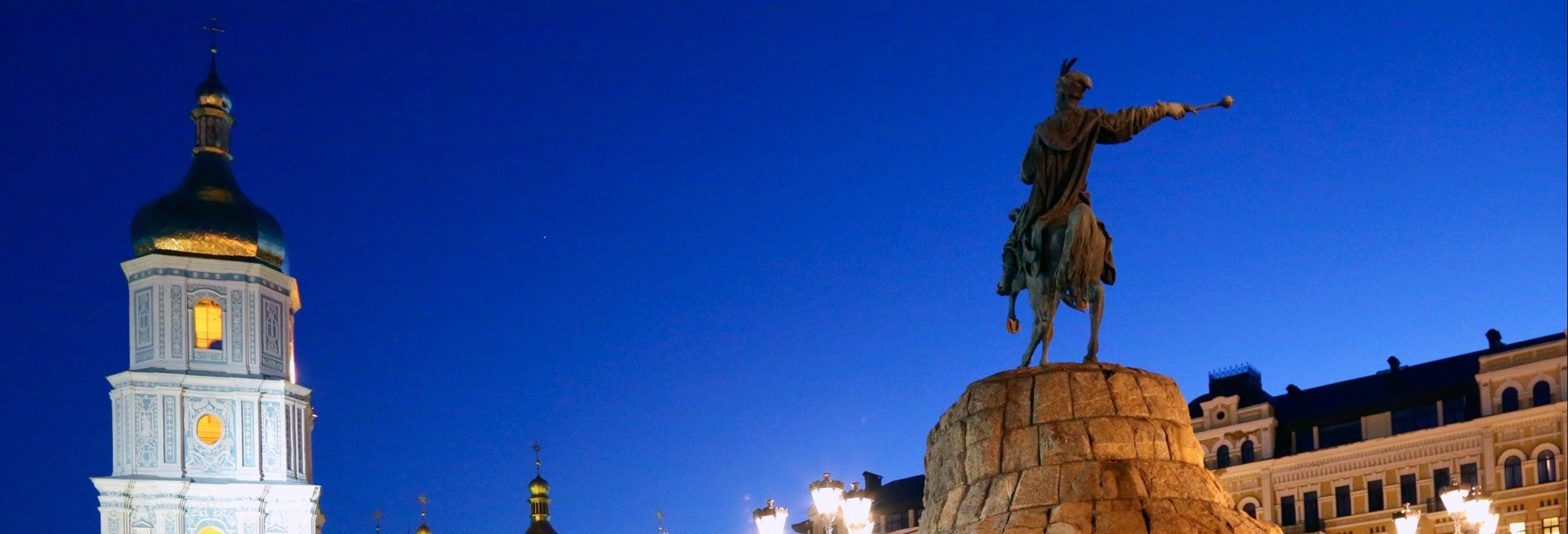 Tour noturno por Kiev
