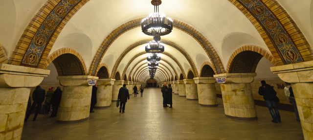 Visita guiada por el metro de Kiev