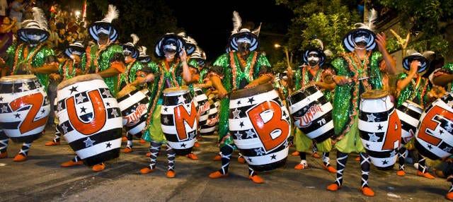 Desfile de llamadas ¡Carnaval en Montevideo!
