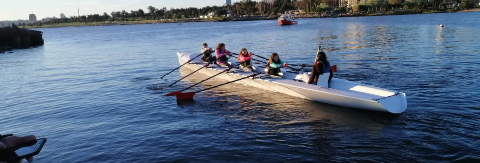 Tour di Montevideo in barca a remi