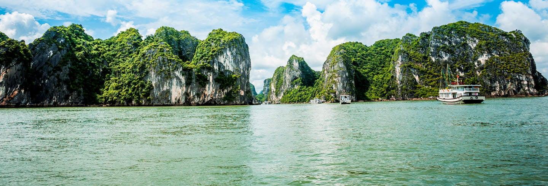 Excursión a las bahías de Ha Long y Lan Ha