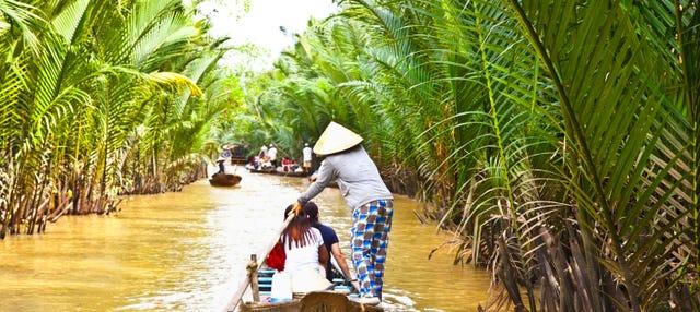 Excursión al delta del Mekong al completo