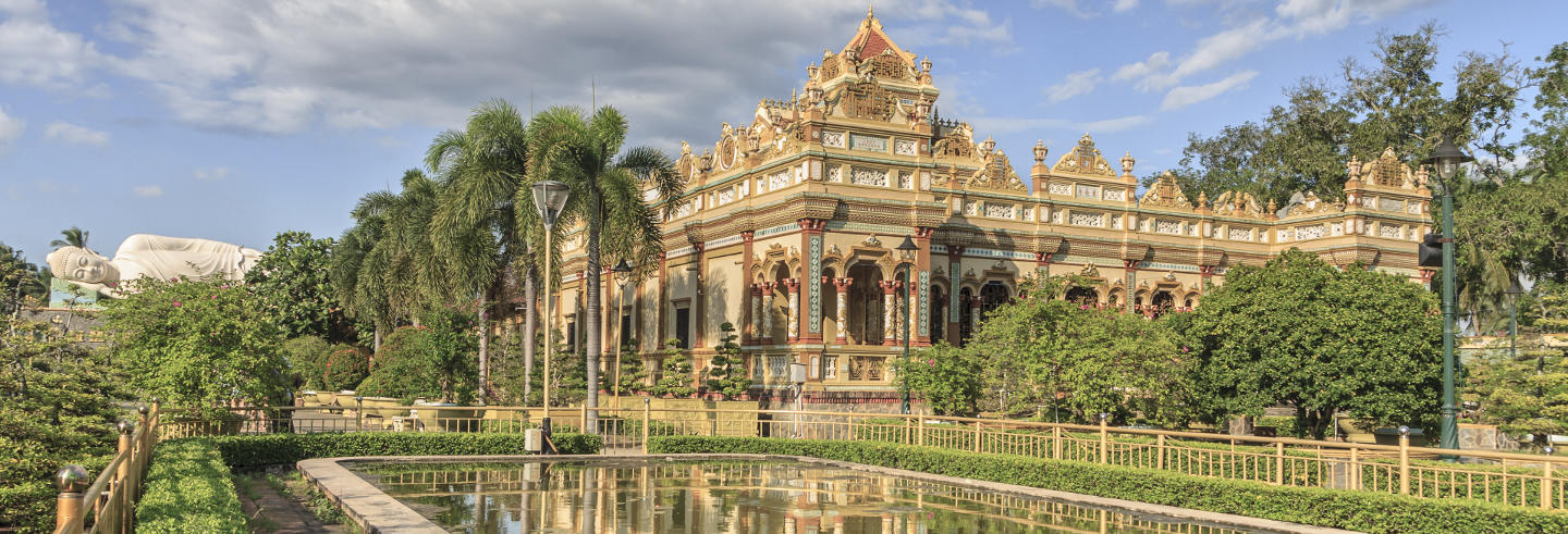 Excursion à la pagode Vinh Tràng et au delta del Mékong