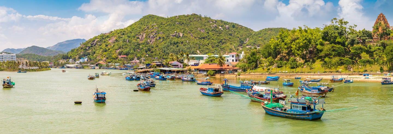 Pesca e snorkel nas ilhas de Nha Trang