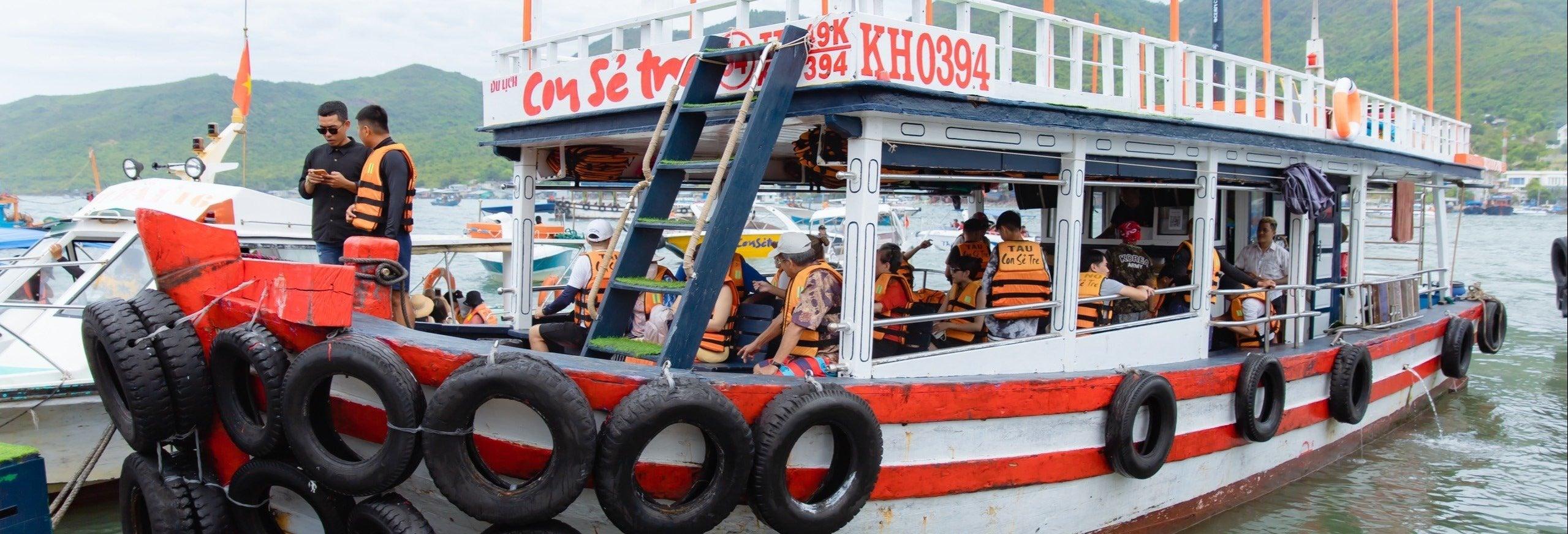 Tour pelas ilhas de Nha Trang