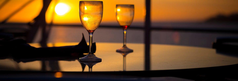 Cruzeiro com jantar pelo rio Zambezi