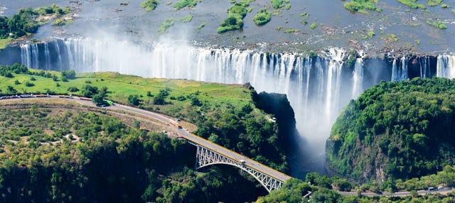Gorge swing en Victoria Falls