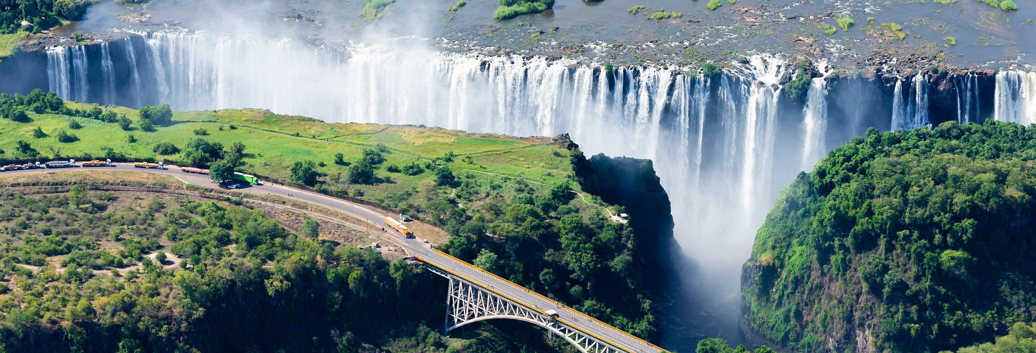 Gorge swing a Victoria Falls